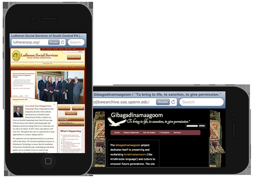gbmediadesign creates mobile responisve web sites.