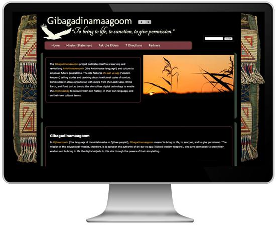 Gibagadinamaagoom: To bring to life, to sanction, to give permission.