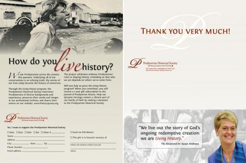 Presbyterian Historical Society: How do you live history?
